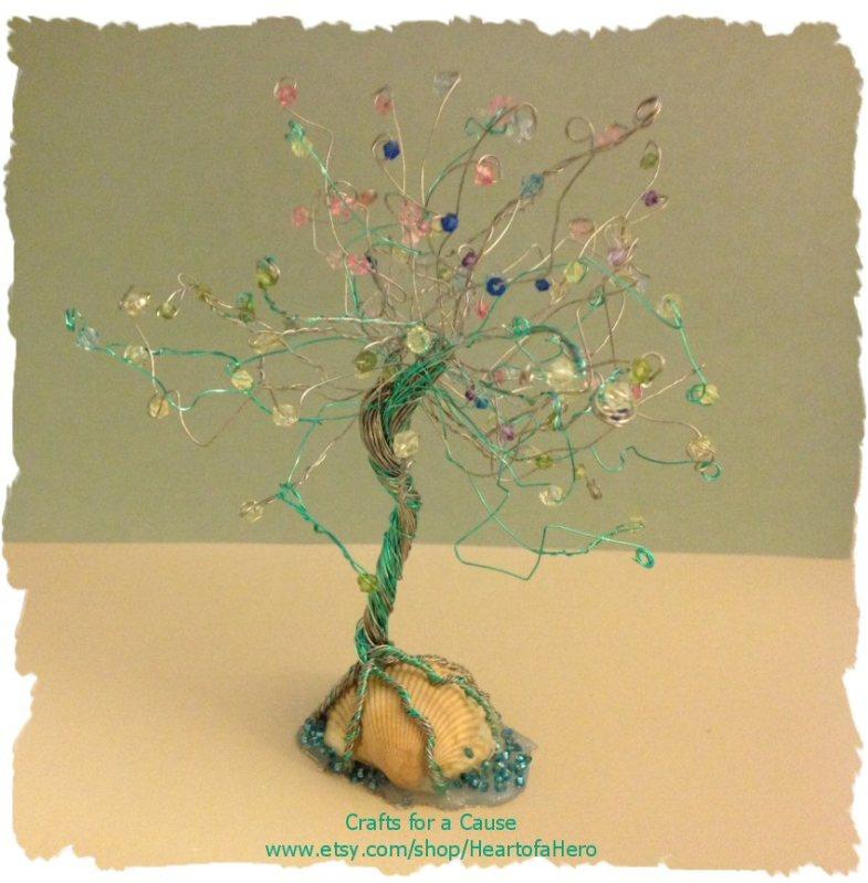 Sea Breeze Wire Tree $35.00