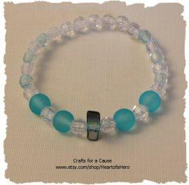 Shell_Teal_Frost-bracelet
